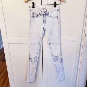 Rag & Bone white wash Jeans size 24 for intermix